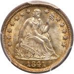 1841 Liberty Seated Half Dime. PCGS MS66