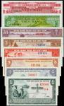 1955年越南国家银行1至50盾。