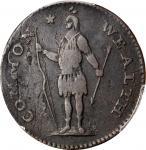 1788 Massachusetts Cent. Ryder 9-M, W-6270. Rarity-6-. Period After MASSACHUSETTS. VF-25 (PCGS).