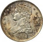 1838 Capped Bust Half Dollar. Reeded Edge. HALF DOL. GR-13. Rarity-1. MS-64 (PCGS).