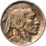 1918/7-D Buffalo Nickel. FS-101. Fine Details--Cleaned (PCGS).