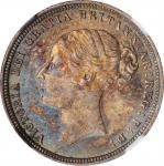 GREAT BRITAIN. 6 Pence, 1883. London Mint. Victoria. NGC MS-64.