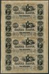 New Orleans Canal Bank, $100, 1st October 1845, (Haxby 105-G58a), solid paper good extremely fine