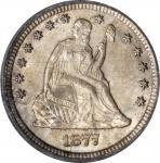 1877-CC Liberty Seated Quarter. MS-65 (PCGS). CAC. OGH.