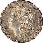 1893-S Morgan Silver Dollar. AU Details--Repaired, Polished (NGC).