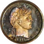 1911 Barber Quarter. Proof-68 (NGC).