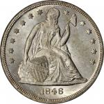 1846-O Liberty Seated Silver Dollar. MS-63 (PCGS).