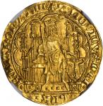 GERMANY. Bavaria. Chaise dOr, ND. Antwerp Mint. Ludwig IV (1314-47). NGC MS-65.