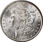 1891-CC Morgan Silver Dollar. VAM-3. Top 100 Variety. Spitting Eagle. MS-64 (PCGS).