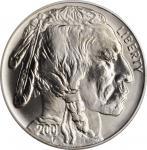 2001-D American Buffalo Silver Dollar. Black Diamond Label. MS-69 (PCGS).
