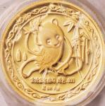 1989年纽约第18届国际硬币展销会纪念金章1/4盎司 完未流通