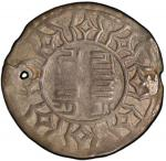 China - Tibet. TIBET: AR su cakra vijaya tangka, ND (ca. 1763-85), Cr-A10, inscription in Tibetan Se
