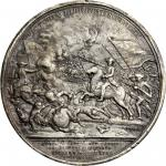 1781 (i.e. March-April 1789) Daniel Morgan at Cowpens reverse cliche. As Betts-593. White metal. Ori