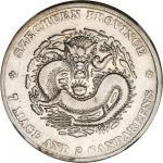CHINA. Szechuan. 7 Mace 2 Candareens (Dollar), ND (1901-08). NGC VF Details--Polished.