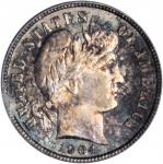 1904-S Barber Dime. MS-66 (PCGS).