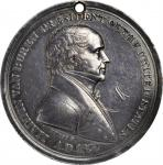1837 Martin Van Buren Indian Peace Medal. Small Size. Silver. 51 mm. 50.19 grams. Julian IP-19, Pruc