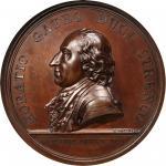 1777 General Horatio Gates Medal. Bronze. 56 mm. Betts-557, Julian MI-2. Adams-Bentley Die State 3.