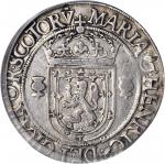SCOTLAND. Ryal, 1566. Mary (1542-67). PCGS VF-30 Secure Holder.