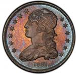 1837 Capped Bust Quarter. Browning-2. Rarity-1, Rarity-8 as a Proof. Mint State-67 (PCGS).PCGS