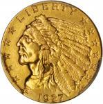 1927 Indian Quarter Eagle. AU-55 (PCGS).