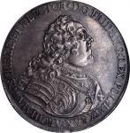 GERMANY. Saxony. Taler, 1740. Freidrich August II (1733-63). NGC AU-55.