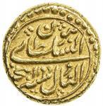 MYSORE: Tipu Sultan, 1782-1799, AR pagoda (3.44g), Nagar, AH1199 year 3, KM-109, choice EF.