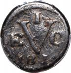 Netherlands East Indies: Java, copper 1 duit, 1814, (KM 244), PCGS Genuine VF Detail, environmental