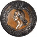 1853 Crystal Palace Medal. Bronze. 51 mm. Musante GW-191, Baker-361A. MS-65 BN (NGC).