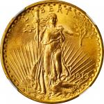 1913 Saint-Gaudens Double Eagle. MS-65+ (NGC).
