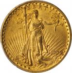 1909/8 Saint-Gaudens Double Eagle. FS-301. AU-55 (PCGS).