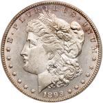 1893-CC Morgan Dollar. PCGS MS63