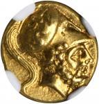 ITALY. Lucania. Metapontum. AV Tetrobol (1/3 Stater) (2.83 gms), ca. 330-320 B.C.