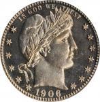 1906 Barber Quarter. Proof-65 (PCGS). CAC. OGH.