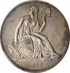 1836年戈布雷希特1元 PCGS UNC Details