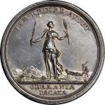 1763 Treaty of Hubertusburg Medal. Betts-446. Silver. Specimen-62 (PCGS).