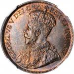 CANADA. Cent, 1916. Ottawa Mint. NGC MS-67 Red Brown.