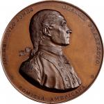 1779 (ca. 1875-1904) John Paul Jones medal. Betts-568, Julian NA-1. Copper. U.S. Mint copy dies. Phi