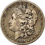 1889-CC Morgan Silver Dollar. VF-25 (PCGS).