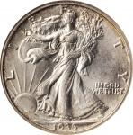 1935-S Walking Liberty Half Dollar. MS-65 (NGC). CAC.