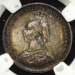 GREAT BRITAIN Victoria ヴィクトリア(1837~1901) Shilling 1887 NGC-PF63 Cameo Proof UNC