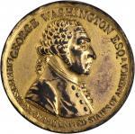 1799 (Circa 1800) Westwood Medal. Fire-Gilt Bronze. 40.6 mm. Baker-80B, Musante GW-83. About Uncircu