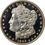 1893 Morgan Silver Dollar. Proof-66+ Deep Cameo (PCGS).