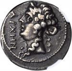 ILLYRICUM. Apollonia. AR Drachm (3.69 gms), ca. 1st Century B.C. NGC Ch VF, Strike: 4/5 Surface: 3/5