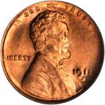 1911-D Lincoln Cent. MS-66 RD (PCGS). CAC.