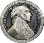 Circa 1805 Sansom medal. Presidency Relinquished. Original dies. Early impression. Musante GW-58, Ba