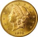 1895 Liberty Head Double Eagle. MS-62 (PCGS).
