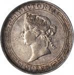 1867年香港一圆。PCGS EF-45