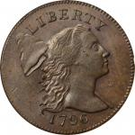 1796 Liberty Cap Cent. S-81. Rarity-3. MS-62 BN (PCGS).