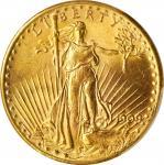 1909-S年20元圣高登飞鹰金币。 旧金山造币厂。UNITED STATES OF AMERICA. Saint-Gaudens Double Eagle, 1909-S. San Francisc