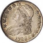 1826 Capped Bust Half Dollar. O-110. Rarity-2. AU-58 (PCGS). CAC.